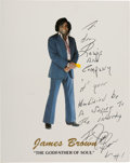 Boxing Collectibles:Autographs, James Brown Signed Photograph. ...