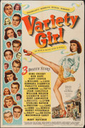 """Movie Posters:Musical, Variety Girl (Paramount, 1947). One Sheet (27"""" X 41""""). Musical....."""