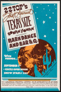"""Movie Posters:Rock and Roll, ZZ Top's First Annual Texas Size Rompin' Stompin' Barndance and BarB.Q. (1974). Concert Handbill (7.25"""" X 11"""")...."""