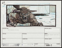 """Ghostbusters (Columbia, 1984). Artwork (8.5"""" X 11"""") & Storyboards (4)(11"""" X 13""""). Comedy..."""