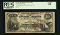 National Bank Notes:Pennsylvania, Philadelphia, PA - $10 1882 Brown Back Fr. 482 The Market Street NBCh. # 3684. ...