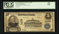 National Bank Notes:West Virginia, Bluefield, WV - $5 1902 Plain Back Fr. 606 The Bluefield NB Ch. #11109. ...