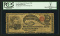 National Bank Notes:Pennsylvania, Pittsburgh, PA - $2 Original Fr. 387 The Mechanics NB Ch. # 700....