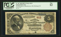 National Bank Notes:Pennsylvania, Pittsburgh, PA - $5 1882 Brown Back Fr. 467 The Merchants &Manufacturers NB Ch. # 613. ...