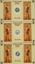 Ancients:Oriental, Ancients: PARTHIAN KINGDOM. Lot of ten (10) AR drachms.... (Total: 10 coins)