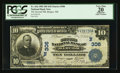National Bank Notes:Maine, Bangor, ME - $10 1902 Date Back Fr. 616 The Second NB Ch. # (N)306....