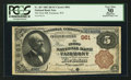 National Bank Notes:West Virginia, Fairmont, WV - $5 1882 Brown Back Fr. 467 The First NB Ch. # 961. ...
