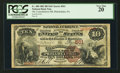 National Bank Notes:Pennsylvania, Philadelphia, PA - $10 1882 Brown Back Fr. 480 The Consolidation NBCh. # 561. ...
