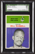 Basketball Cards:Singles (Pre-1970), 1961 Fleer Bill Russell #38 SGC 86 NM+ 7.5....