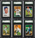 Baseball Cards:Lots, 1951 and 1952 Bowman Baseball Collection (100). ...