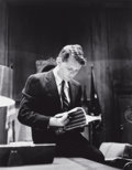 Photographs:20th Century, ALFRED EISENSTAEDT (American, 1898-1995). Robert Kennedy,1961. Early gelatin silver. 10 x 8 inches (25.4 x 20.3 cm). Ar...