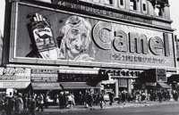 PETER STACKPOLE (American, 1913-1997) Camel Cigarette Billboard Sign, Times Square, 1944 Gelatin sil