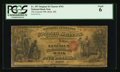 National Bank Notes:Maine, Bath, ME - $5 Original Fr. 397 The Lincoln NB Ch. # 761. ...
