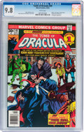 Bronze Age (1970-1979):Horror, Tomb of Dracula #49 (Marvel, 1976) CGC NM/MT 9.8 White pages....