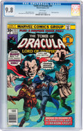 Bronze Age (1970-1979):Horror, Tomb of Dracula #53 (Marvel, 1977) CGC NM/MT 9.8 White pages....