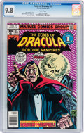 Bronze Age (1970-1979):Horror, Tomb of Dracula #55 (Marvel, 1977) CGC NM/MT 9.8 White pages....