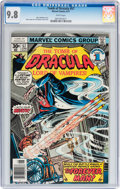 Bronze Age (1970-1979):Horror, Tomb of Dracula #57 (Marvel, 1977) CGC NM/MT 9.8 White pages....