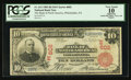 National Bank Notes:Pennsylvania, Philadelphia, PA - $10 1902 Red Seal Fr. 613 The Bank of NorthAmerica Ch. # (E)602. ...