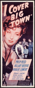 "Movie Posters:Mystery, I Cover Big Town (Paramount, 1947). Insert (14"" X 36""). Mystery....."
