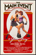 "Movie Posters:Sports, The Main Event (Warner Brothers, 1979). One Sheet (27"" X 41""). Sports.. ..."