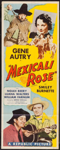 """Movie Posters:Western, Mexicali Rose (Republic, R-1943). Insert (14"""" X 36""""). Western.. ..."""
