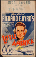 "Movie Posters:Documentary, Into Little America (Paramount, 1935). Window Card (14"" X 22""). Documentary.. ..."