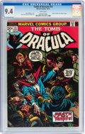 Bronze Age (1970-1979):Horror, Tomb of Dracula #13 (Marvel, 1973) CGC NM 9.4 White pages....