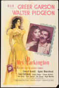 "Movie Posters:Drama, Mrs. Parkington (MGM, 1944). One Sheet (27"" X 41"") Style D. Drama.. ..."