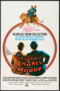 """The Further Perils of Laurel and Hardy & Other Lot (20th Century Fox, 1967). One Sheets (2) (27"""" X 41""""..."""