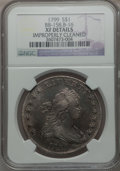 Early Dollars, 1799 $1 7x6 Stars -- Improperly Cleaned -- NGC Details. XF. B-16,BB-158, R.2....