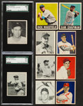 Baseball Cards:Lots, 1948 & 1949 Bowman & Leaf Baseball Card Collection (39)....