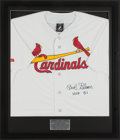 Baseball Collectibles:Uniforms, Bob Gibson Signed St. Louis Cardinals Jersey. ...
