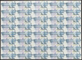 Canadian Currency: , BC-56e-i 1986 $5 Uncut Sheet of 40. ...