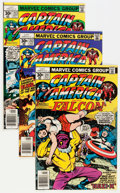 Modern Age (1980-Present):Superhero, Captain America #211-401 Near Complete Short Box Group (Marvel,1977-92) Condition: Average NM-....