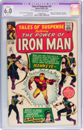 Silver Age (1956-1969):Superhero, Tales of Suspense #57 (Marvel, 1964) CGC Apparent FN 6.0 Slight (A)Off-white to white pages....