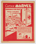 """Golden Age (1938-1955):Superhero, Well Known Comics: Captain Marvel """"Guardians of the Polls""""(Bestmaid, 1944) Condition: FN...."""