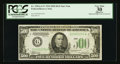 Small Size:Federal Reserve Notes, Fr. 2201-G* $500 1934 Federal Reserve Note. PCGS Apparent Very Fine 30.. ...