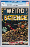 Golden Age (1938-1955):Science Fiction, Weird Science #11 (EC, 1952) CGC VF- 7.5 Cream to off-whitepages....
