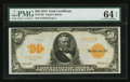 Large Size:Gold Certificates, Fr. 1199 $50 1913 Gold Certificate PMG Choice Uncirculated 64 EPQ.. ...