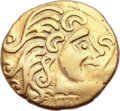 Ancients:Celtic, Ancients: CELTIC GAUL. The Parisii. Late 2nd-1st century BC. AVstater (23mm, 7.18 gm, 6h). ...