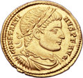 Ancients:Roman Imperial, Ancients: Constantine I the Great (AD 307-337). AV solidus (20mm, 4.46 gm, 1h)....