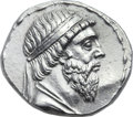 Ancients:Oriental, Ancients: PARTHIAN KINGDOM. Mithradates I (164-132 BC). ARtetradrachm (30mm, 15.24 gm, 12h). ...