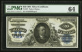 Large Size:Silver Certificates, Fr. 321 $20 1891 Silver Certificate PMG Choice Uncirculated 64.....
