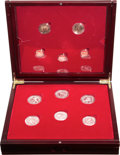 Italy, Italy: Republic silver and gold Torino Winter Olympics Proof Set2006,... (Total: 11 coins)