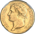 France: Napoleon gold 20 Francs 1808-Q