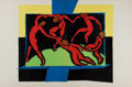 Art:Illustration Art - Mainstream, [Illustration]. Chromolithograph After Henri Matisse'sDance. N.d. Measures 21 x 14 inches. Bright color. Previo...