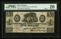 Obsoletes By State:Ohio, Kirtland, OH- The Kirtland Safety Society Bank $5 Mar. 8, 1837 G8Rust 70 Wolka 1424-10. ...