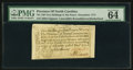 Colonial Notes:North Carolina, North Carolina December, 1771 2s6d House PMG Choice Uncirculated 64 EPQ.. ...