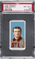 Baseball Cards:Singles (Pre-1930), 1909-11 T206 Rube Waddell, Portrait PSA NM-MT+ 8.5 - Pop One, TwoHigher! ...