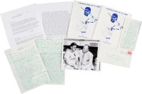 1952 Ty Cobb Handwritten Letter to Stan Musial with Spectacular Content